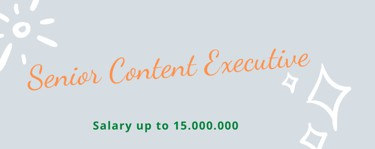 Senior Content Executive